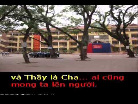 VE THAM TRUONG XUA  - Sang tac HAI ANH karaoke khong loi