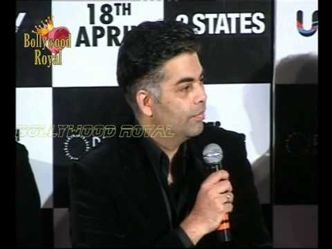 Trailer launch of the film '2 States' 2