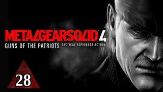 Metal Gear Solid 4 Walkthrough - Part 28 Shadow in the Light Let's Play MGS4 Gameplay Commentary