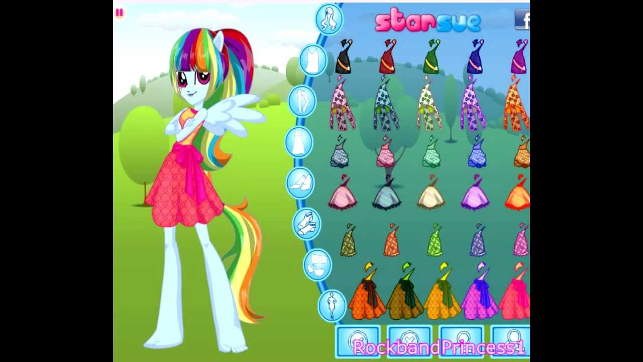 My Little Pony Equestria Girls RainbowDash Game - Full Online Game To ...