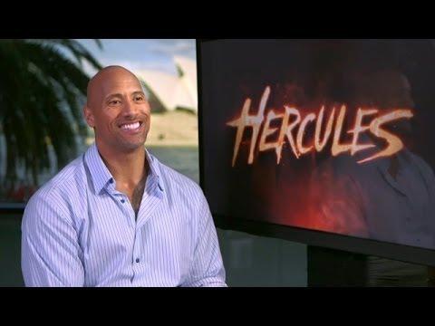 HERCULES - Dwayne Johnson Interview