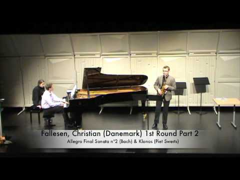 Fallesen, Christian (Danemark) 1st Round Part 2