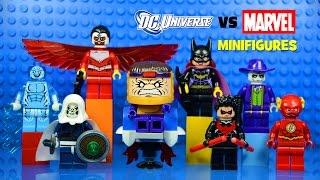 LEGO DC Vs Marvel Superheroes KnockOff Minifigures Set 7
