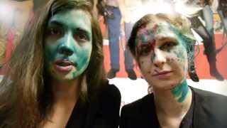 Pussy Riot atacate brutal în Nijnii Novgorod