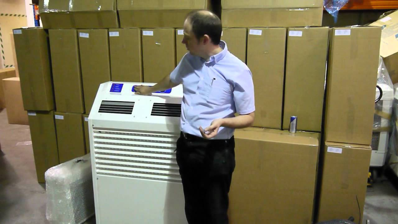 Water Cooled Split Industrial Portable Air Conditioner
