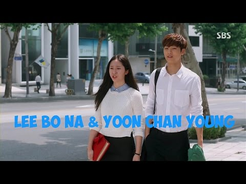 Lee Bo Na and Yoon Chan Young - Love story / The Heirs - Run