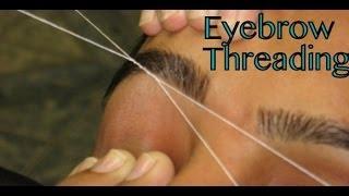EyebrowThreading, Upperlip Threading, Tutorial,Remove