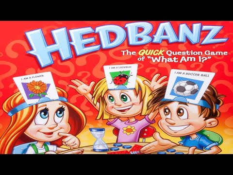 Playing Hedbanz Guessing Game for kids with LeancaBros  CHALLENGE Family FUN extreme fun time video
