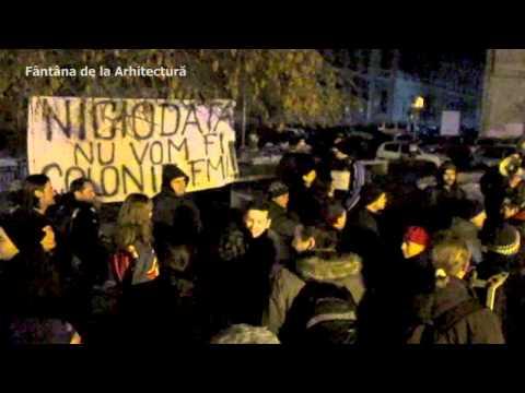 Piaţa Universităţii e solidară cu suporterii abuzaţi