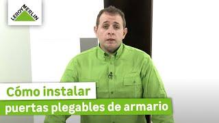 Instalar puertas correderas de armario