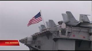 Nhóm chiến hạm Mỹ hướng đến Bán đảo Triều Tiên