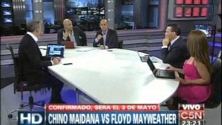 C5N BOXEO: CHINO MAIDANA VS FLOYD MAYWEATHER