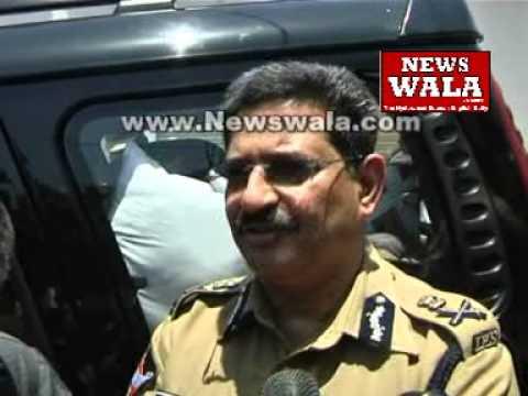 Kishanbagh Communal Violence -- Hyderabad commissioner Anurag Sharma briefing the Media