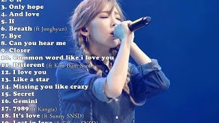 Best Songs of Kim Taeyeon (김태연)- 2016