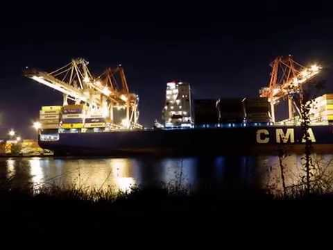 Port of Long Beach Time Lapse
