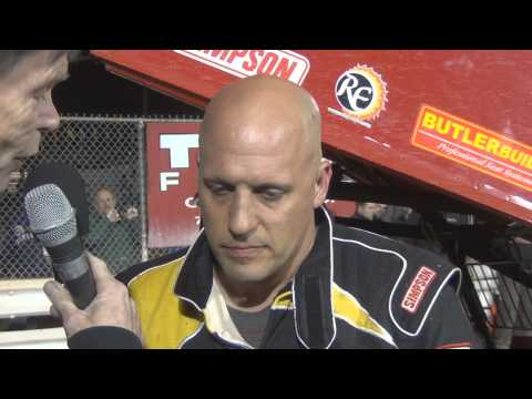 Williams Grove Speedway 410 Sprint Car Victory Lane 4-18-14