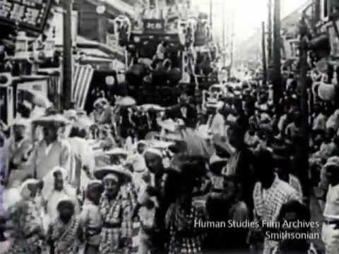 Beautiful Japan: Benten Festival 1917-1918, from the Smithsonian's Human Studies Film Archive