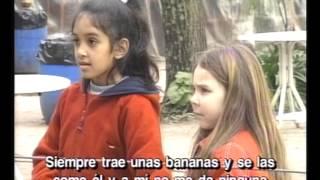Niños en el zoo
