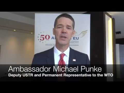 Ambassador Michael Punke on TTIP at AmCham EU's Transatlantic Conference 2014