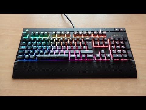 Corsair Strafe RGB keyboard LED effects