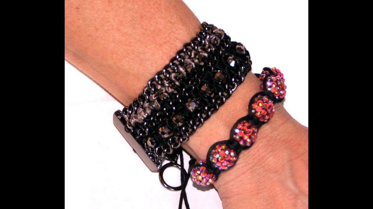 DIY: Shamballa Bracelet DIY