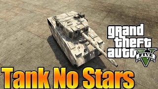 GTA 5 Online How To Get Tank Fast Without Shooting (GTA V