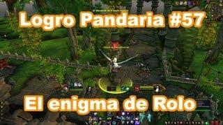 Logro Pandaria #57 El Enigma De Rolo