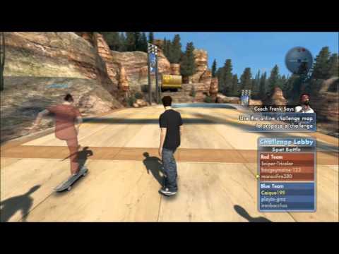 Jogando com gringos - Skate 3 Online #4