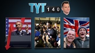 Drones & Planes, Obama Polls, Journalists Jailed & LeBron A Free Agent   TYT140 (June 24, 2014)