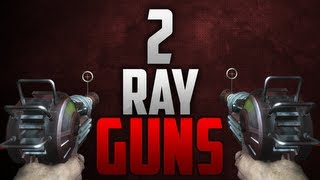 Black Ops 2 Die Rise: How To Have 2 Ray Guns Trick! [EASY