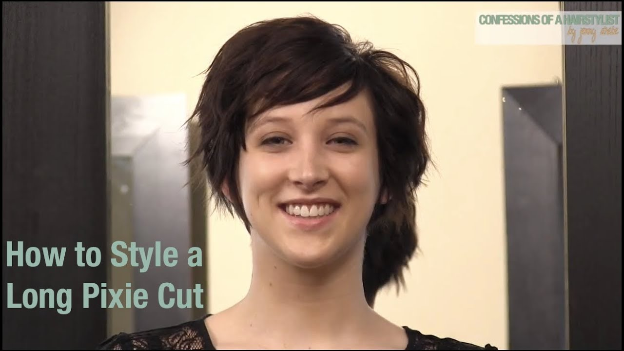 Ways to Style a Long Pixie Haircut - Classic, Pompadour and Natural ...