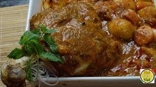 Lamb Leg Roast Curry..