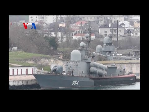 Crisis in Crimea: Ukraine vs. Russia (VOA On Assignment Mar. 7, 2014)