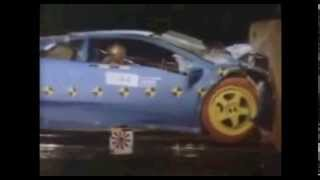 lamborghini gallardo crash test - youtube