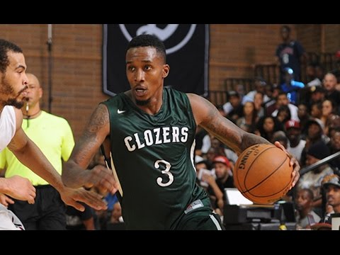 Brandon Jennings And DeMar DeRozan Show Out At Nike Drew League!