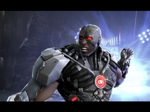 Injustice - Cyborg vs Nightwing Walkthrough - PAX 2012