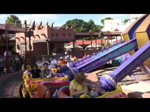 The Magic Carpets of Aladdin at Walt Disney World's Magic Kingdom (in HD)