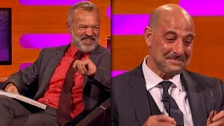 Poorly translated foreign menus causes Stanley Tucci to cry on The Graham Norton Show