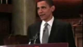 Barack Obama Mocks And Makes Fun Of The Bible