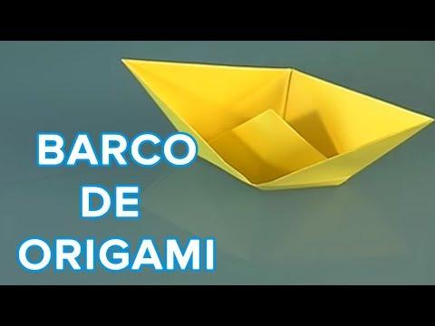 aprende a hacer un barco de papel origami youtube. Black Bedroom Furniture Sets. Home Design Ideas