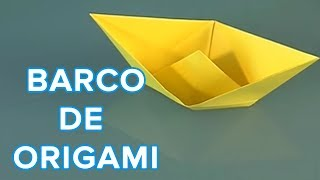 Origami: Como hacer un barco de papel
