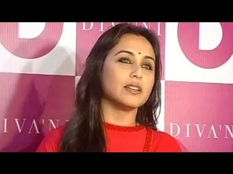 Rani Mukerji's first public appearance after wedding