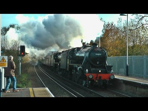 44871 & 45407 - The Riley 5s on The Cathedrals Express - 05/12/13