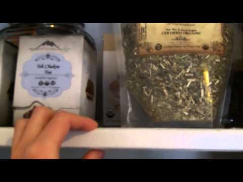 Inside Tanni's Cupboards  ~ Herbs, Supplements, Spices, Food