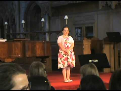 castle on a cloud and where is love sung by scarlet ogden aged 8