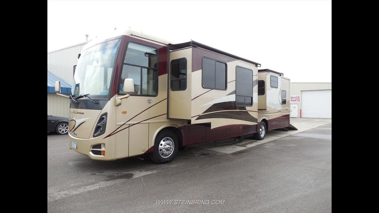 2008 Newmar All Star 4257 Diesel Toy Hauler Used Rvs For