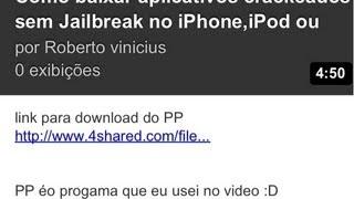 Como Baixar Aplicativos Crackeados Sem Jailbreak No IPhone