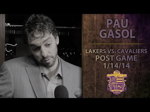Lakers vs. Cavs: Pau Gasol On Foot Injury, Motivation, Plus Funny Response When A Phone Goes Off