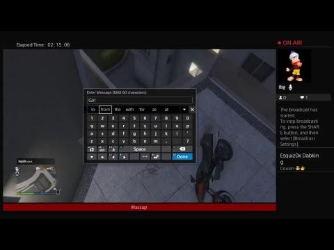 xga55mer's Live PS4 Broadcast
