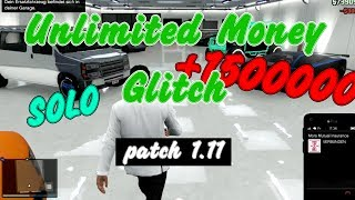 GTA 5 Online: Unlimited Money Glitch Patch 1.11 Solo 3m/h